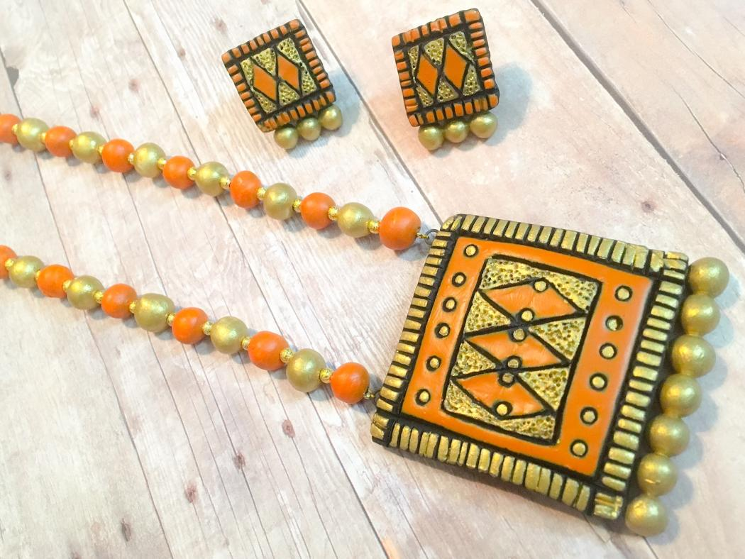 Handmade Terracotta Jewelry